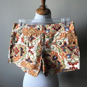 J.  Crew fun patterned shorts